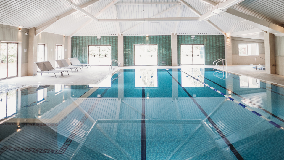 The Essex Golf and Country Club swimming pool